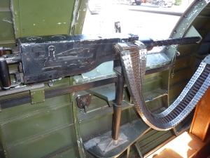 B-17 Waist Gun.  Waist guns were on both sides of the plane.
