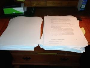Paper manuscript
